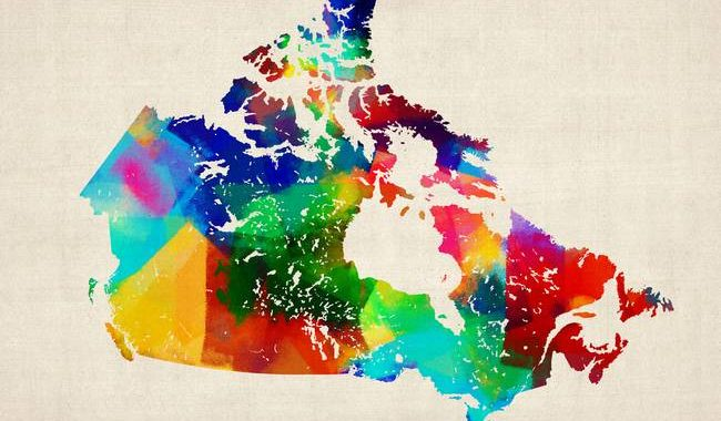 canada-rolled-paint-map_art
